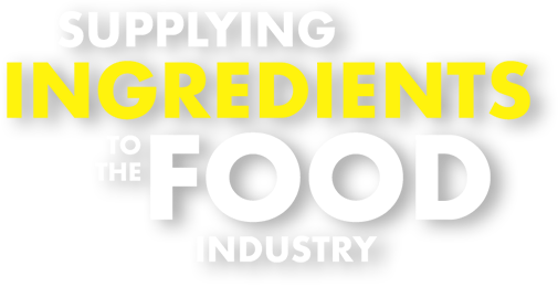 Supplying ingredients to the food industry